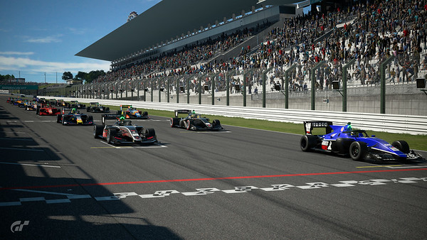 Sport Mode Daily  Race C serves up our first helping of Super Formula...and I'm in P4!