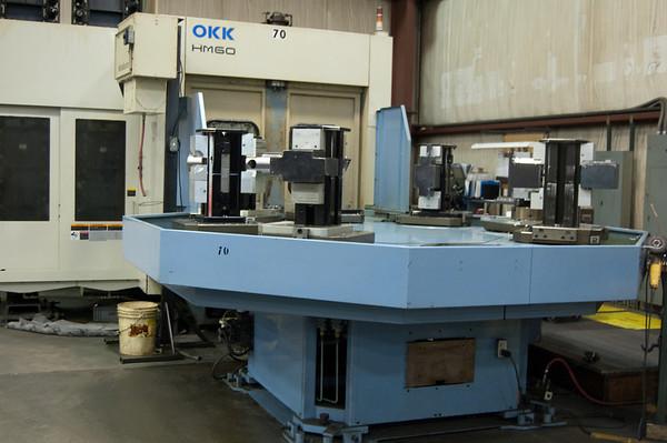 OKK HM-60 8 Pallet Horizontal Machining Center