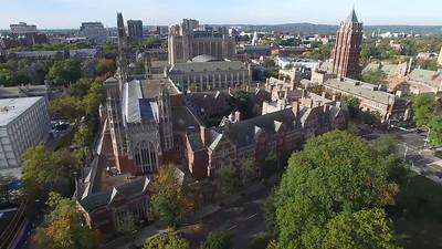 Aerial Footage of Yale Law School
