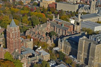 Fall foliage on campus