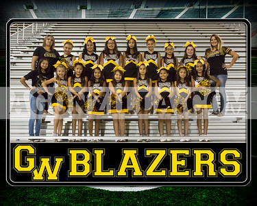 blazers junior cheer