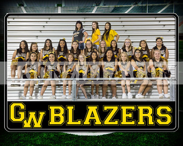 blazers senior cheer team