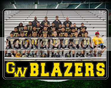 blazers pee wee team picture