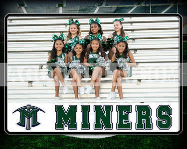 miners jr cheer team