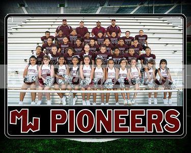 pioneer pee wee cheer team