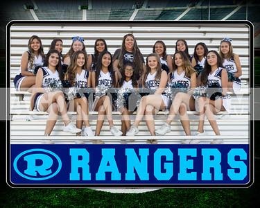 rangers senior cheer team