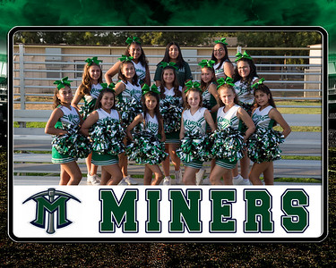 miners Sr Cheer team