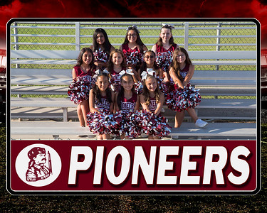 pioneers junior cheer team