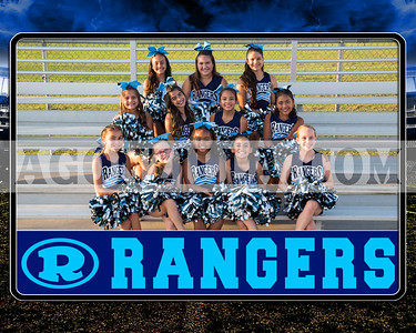 rangers junior cheer team