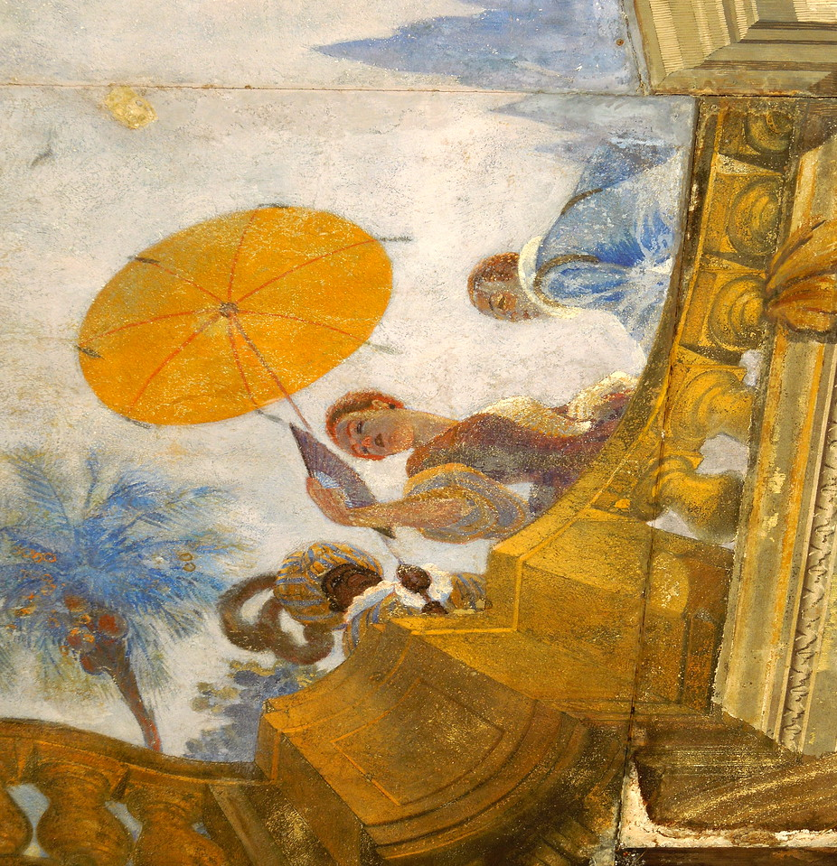 Fresco Detail, Viscaya
