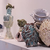 """The Shipwreck Ceramics"" collection by Stephanie Kantor is displayed as part of the Small Sculptures: Big Impact exhibition at the Strohl Art Center Monday, June 17, 2019. VISHAKHA GUPTA/STAFF PHOTOGRAPHER"