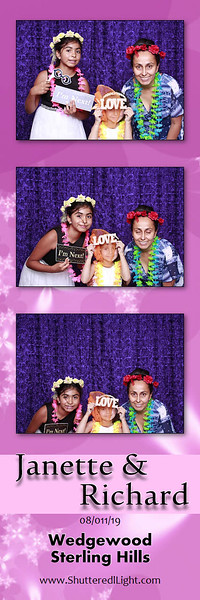 Janette and Richard Photobooth Pictures
