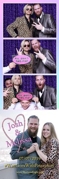 Josh + Melissa Wedding Photobooth