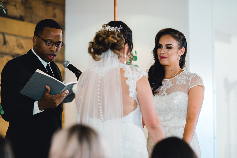 Courtney and April Married