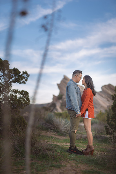 "TJ and Abi had their engagement session at the Vasquez Rocks  in Agua Dulca CA. Video by Fad Era Productions. Photos by Shuttered Light Photography. More info at  <a href=""http://www.ShutteredLight.com"">http://www.ShutteredLight.com</a>"