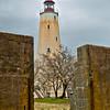 Sandy Hook Lighthouse.