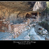 02 Sinagua Cliff Dwelling built on side of  Walnut Canyon