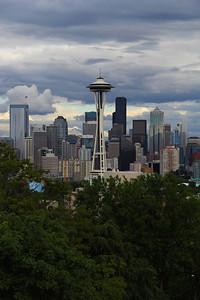 Seattle  Skyline - The Emerald City