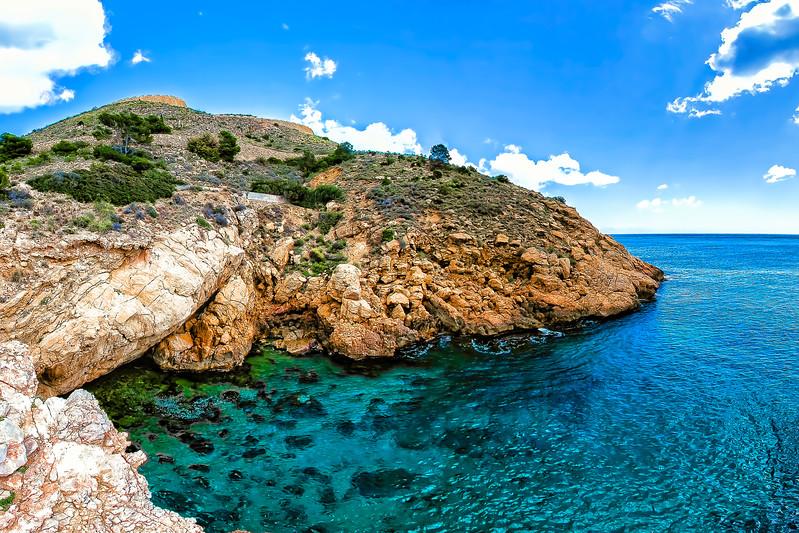 Cove Tio Ximo from Benidorm