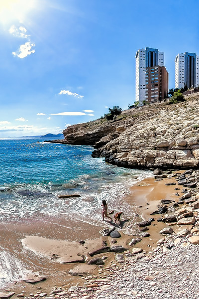 Cove Llisera in Benidorm