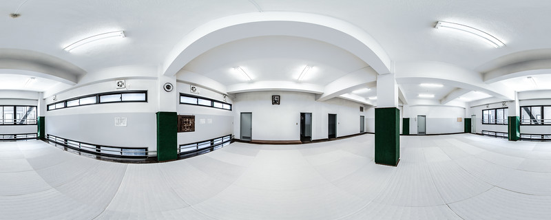 Sub Dojo Floor 2 - Aikido Hombu Dojo