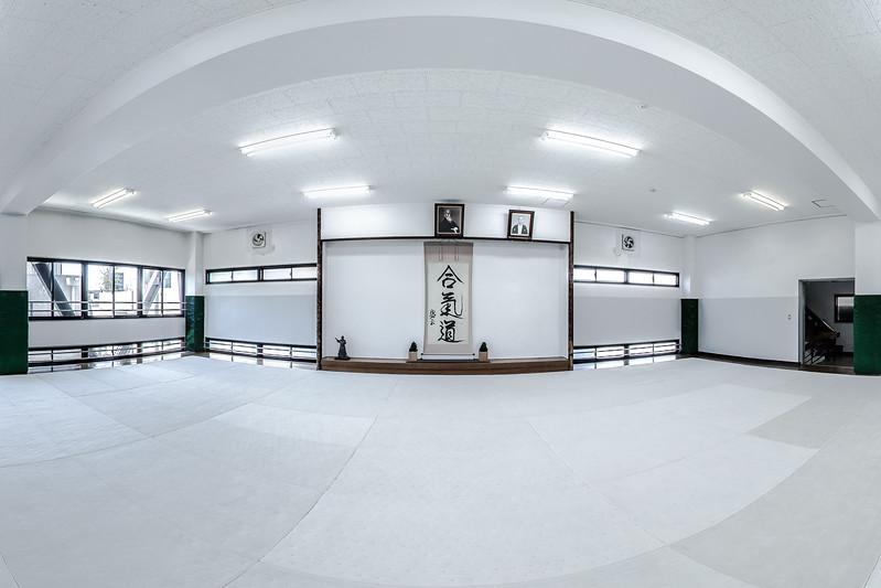 Main Dojo Floor 3 - Aikido Hombu Dojo