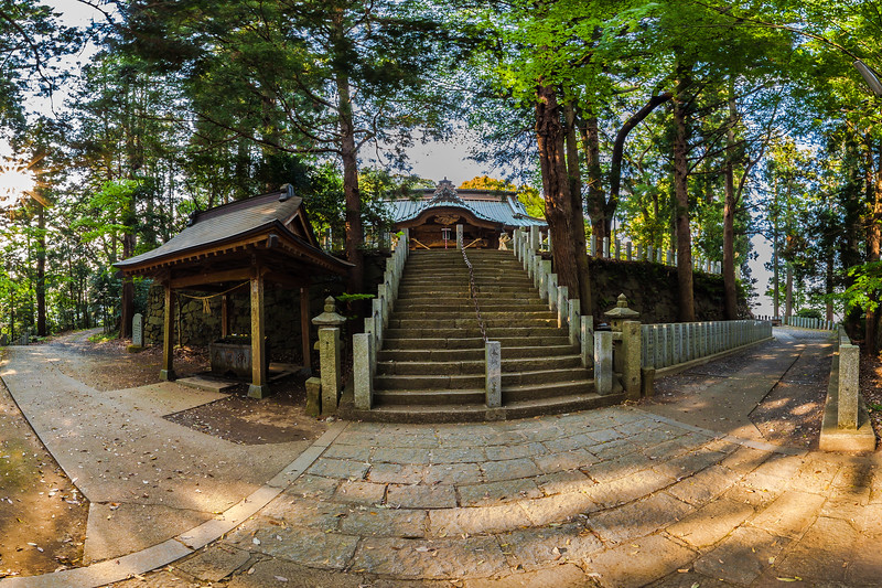Temizuya - Atago Shrine