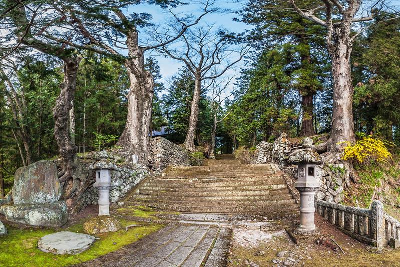 Entrance to Teisho-ji Buddhist Temple