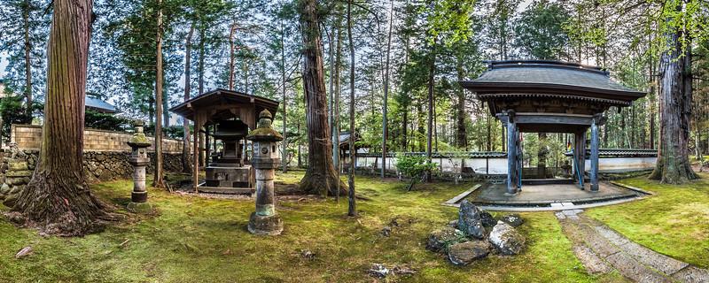 Shrines at Teisho-ji Buddhist Temple