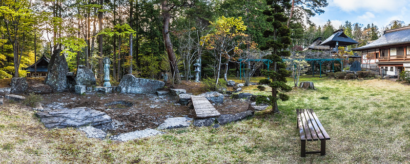 Garden at Teisho-ji Buddhist Temple