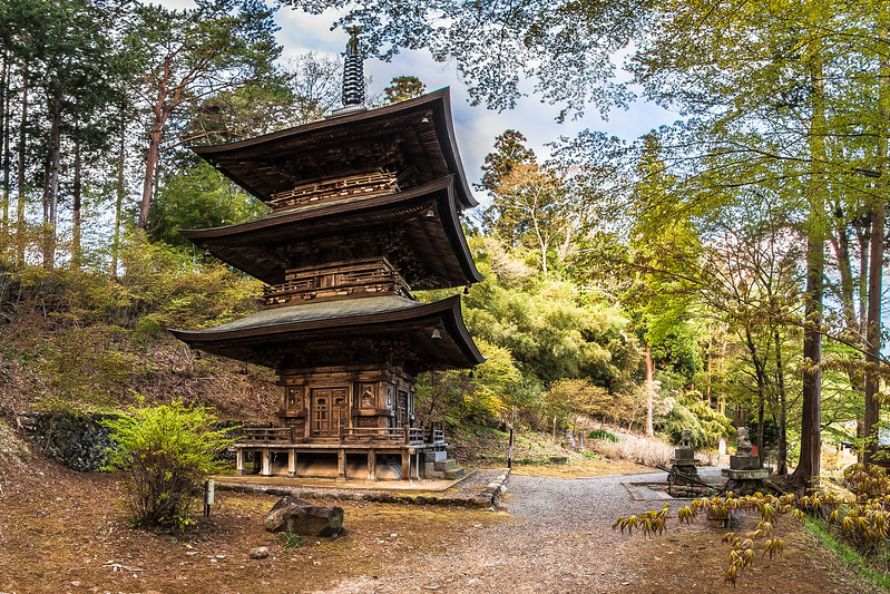 Pagoda at Teisho-ji Buddhist Temple