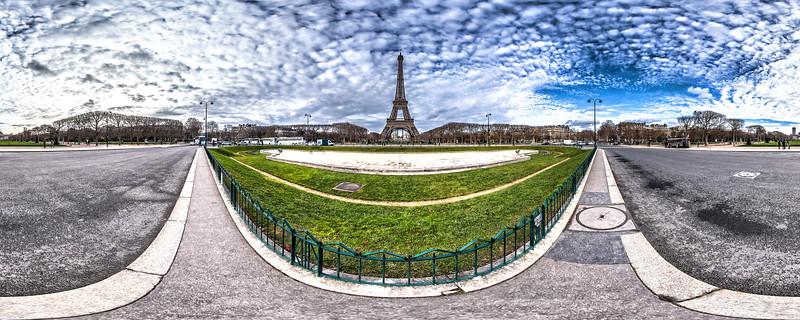 Eiffel Tower – (Av. Joseph Bouvard – Rue du Champ de Mars)