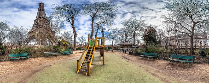 Kids Playground – (Av. Gustave Eiffel – Allée Thomy-Thierry)