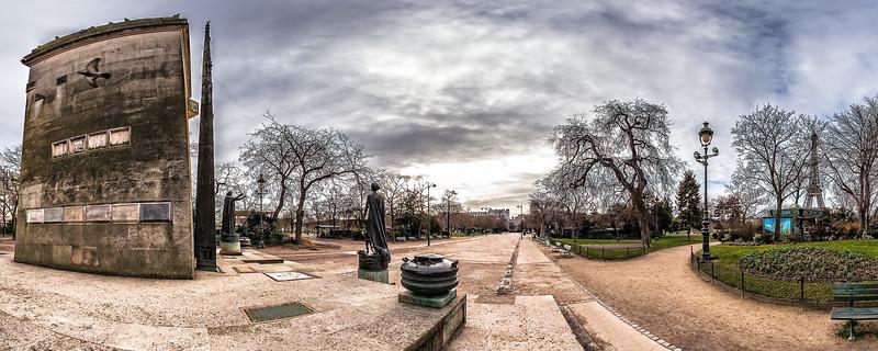 Monument to Human Rights - (Av. Charles Risler)