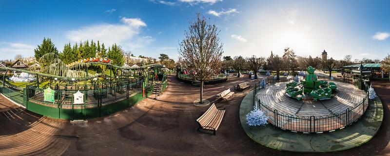 Le Tacot Express et Le Manège des Grenouilles  - Le Jardin d'Acclimatation