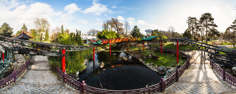 Le Dragon - Le Jardin d'Acclimatation