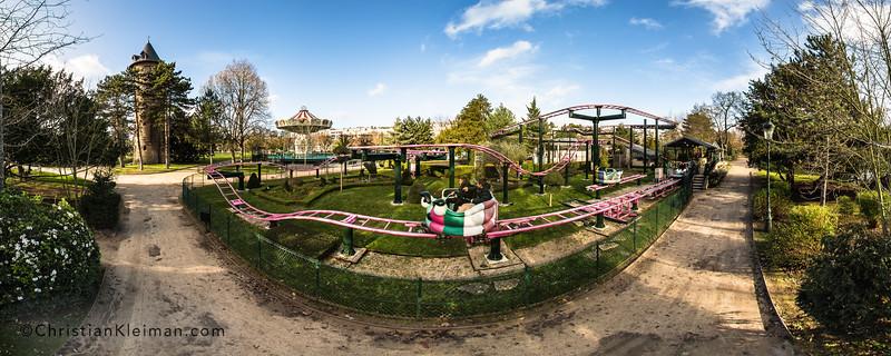 Le Manège des Papillons d'Alice - Le Jardin d'Acclimatation
