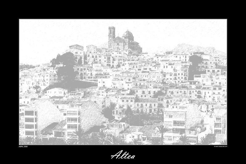 Fotografía Aérea - Posters Altea
