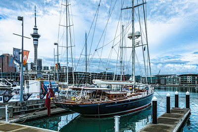 The Viaduct Basin - Auckland