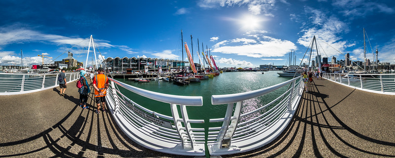 Wynyard Crossing Bridge - Race Village