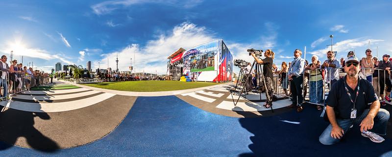 Race Village Opening Ceremony