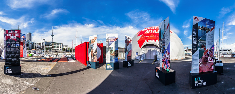 Welcome to the Race Village