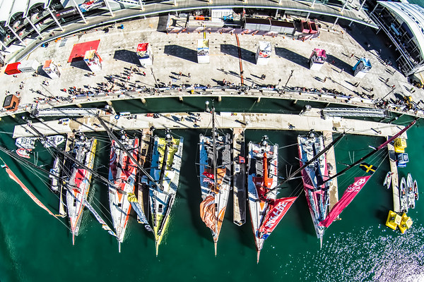 Getting ready before In-Port Race