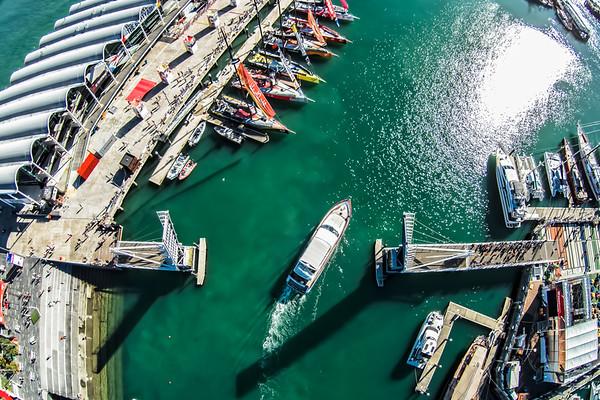 Race Village - Aerial Photos