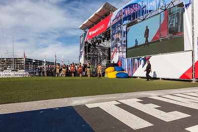 Race Village Opening Ceremony