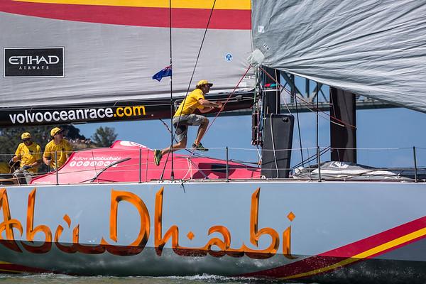 Team ABU DHABI - Stock Photos