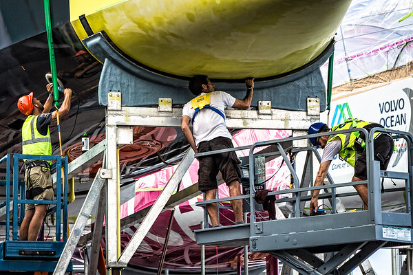 The Boatyard - VO65 Hull, Deck and Electronics - Revisions, Repairs and Maintenance