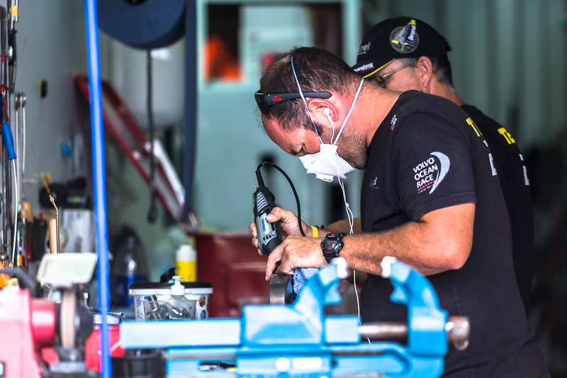 Equipment Zone - VO65 Rigging - Repairs and Maintenance