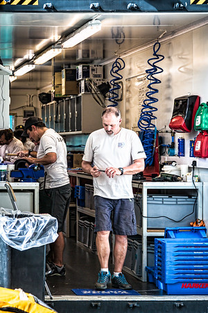 The Boatyard - VO65 Sails and Winches - Revisions, Repairs and Maintenance