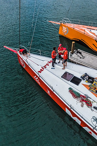 Volvo Ocean Race Boatyard at Auckland Stopover 2015 Photo by © Christian Kleiman